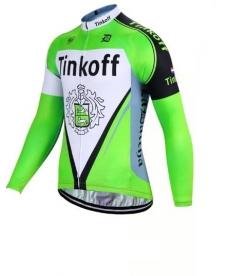 Maillot Largo Tinkoff Fluorescent Green 2021