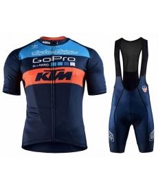 Equipación corta con tirantes KTM 2019