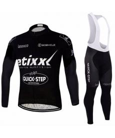 Ropa Ciclismo de Invierno Con Tirantes Etixx Quick Step