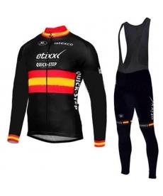 Ropa de Ciclismo Termica Etixx quick step Con Tirantes