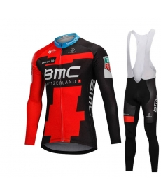 Ropa Ciclismo de Invierno Con Tirantes BMC 2019