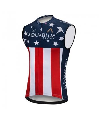 Maillot Ciclista sin Mangas USA 2021