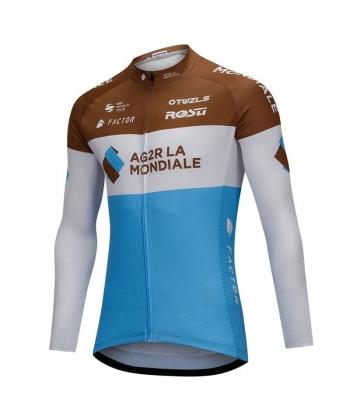 Maillot Ciclista Largo AG2R LA MONDIALE 2018
