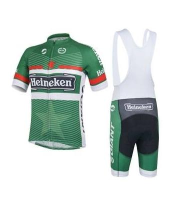 Ropa de Ciclismo de verano Heineken 2021