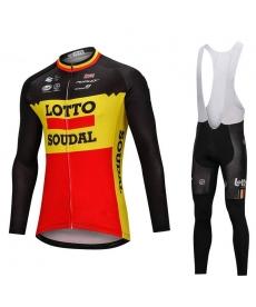 Ropa Ciclismo de Invierno Con Tirantes Lotto 2021