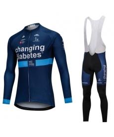 Ropa Ciclismo de Invierno Con Tirantes Changing Diabetes 2021