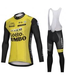 Ropa Ciclismo de Invierno Con Tirantes Lotto Jumbo 2021