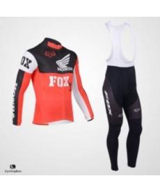 Ropa Ciclismo de Invierno Con Tirantes FOX