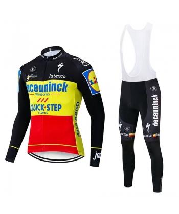 Ropa de Ciclismo Termica Quick Step deceuninck 2019