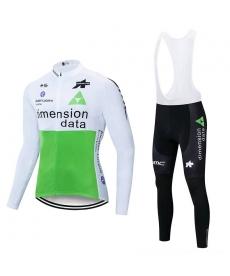 Ropa de Ciclismo Termica Dimension Data 2021