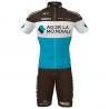 Ropa ciclismo de verano con tirantes AG2R LA MONDIALE 2021