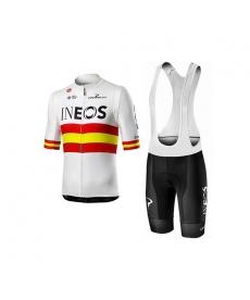 Ropa ciclismo de verano con tirantes INEOS ESPAÑA 2020