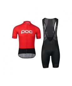 Ropa ciclismo de verano con tirantes POC 2020