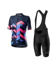 Ropa ciclismo de verano con tirantes Mujer 2021