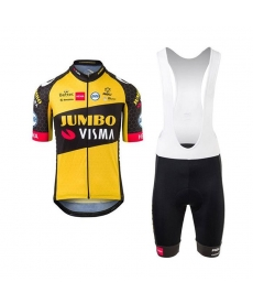 Ropa ciclismo de verano con tirantes JUMBO VISMA 2021