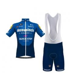 Ropa ciclismo de verano con tirantes Deceuninck Quick Step 2021