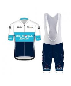 Ropa ciclismo de verano con tirantes Santini De Rosa 2021