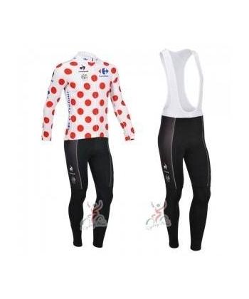 Ropa de Ciclismo Termica Tour de Francia Con Tirantes