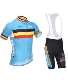 Ropa de Ciclismo de verano Bélgica con tirantes