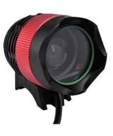 Linterna CREE XM-L T6 LED 1800 lúmenes 2 en 1