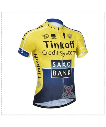 Maillot Ciclista Corto Saxo Bank 2014