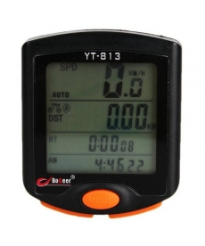 Cuentakilómetros de pantalla de LED para bicicleta 24 Funciones