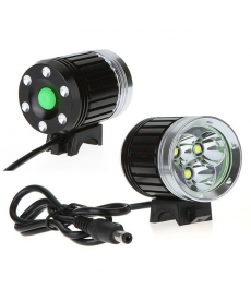 Linterna LED para bicicleta con 3800 lúmenes 3 x CREE XM-L T6 impermeale
