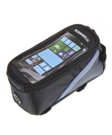 Funda protectora para llevar el móvil durante la ruta en bicicleta