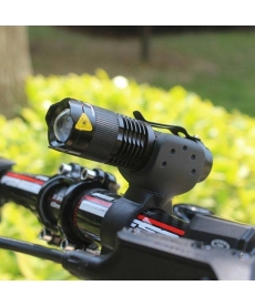 Luz Led Q5 Frontal Para Bicicleta Negra