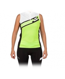Maillot Spiuk Race Mujeres Jersey Amarillo 2014