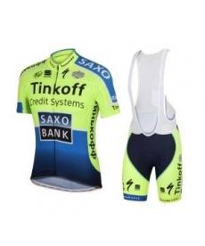 Ropa de Ciclismo de verano Saxo Bank 2014