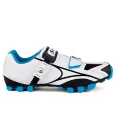 Zapatillas Spiuk New Risko Blancas y Azules 2015