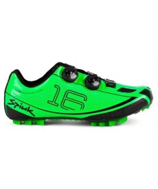 Zapatillas Spiuk 16 MC Verdes Fluor 2015