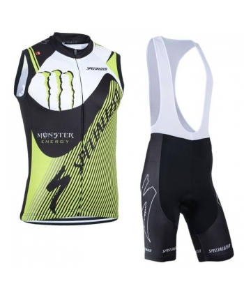 Ropa de Ciclismo sin Mangas Monster 2014