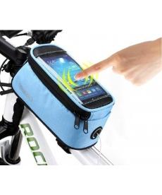 Funda protectora para llevar el móvil Azul