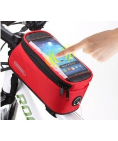 Funda protectora para llevar el móvil Rojo