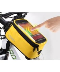 Funda protectora para llevar el móvil Amarillo