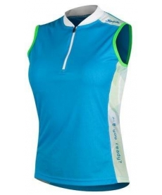 Maillot Spiuk Race Mujer Azul sin Mangas 2015