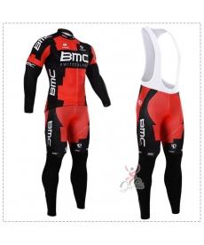 Ropa de Ciclismo Termica BMC Con Tirantes