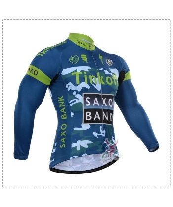Maillot Ciclista Largo Saxo Bank 2018