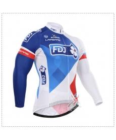 Maillot Ciclista Largo FDJ 2021