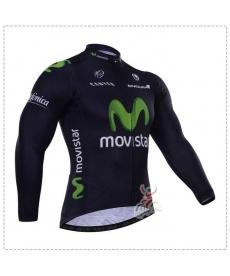 Maillot Ciclista Largo Movistar 2021