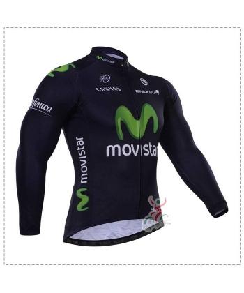 Maillot Ciclista Largo Movistar 2018