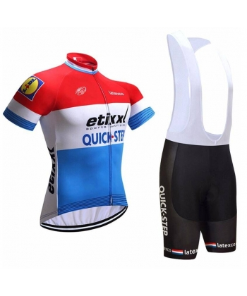 Ropa Ciclismo de verano con tirantes etixx quick step 2021