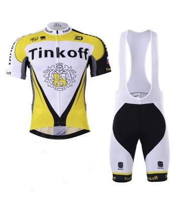 Ropa Ciclismo de verano con tirantes saxo bank 2021