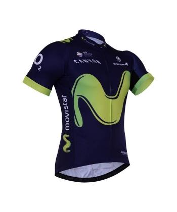 Maillot Ciclista Corto Movistar 2021